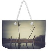 All Is Calm At Green Bottom Weekender Tote Bag