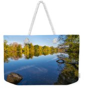 All Is Quiet On The River Weekender Tote Bag