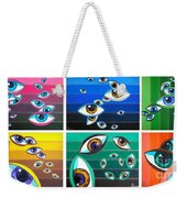 All Pictures With Eyes Weekender Tote Bag