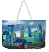 All Roads Lead To Minneapolis Weekender Tote Bag