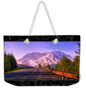 All Roads Lead To The Mountain Weekender Tote Bag