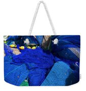 All The Blue Of The Sea Weekender Tote Bag