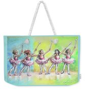 All Together Now...first Ballet Recital Weekender Tote Bag