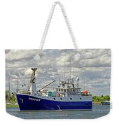 Cloudy Day On The Marina Weekender Tote Bag