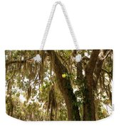 Allamanda And Oak Tree Weekender Tote Bag
