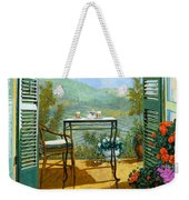 Alle Dieci Del Mattino Weekender Tote Bag by Guido Borelli