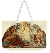 Allegory Of Agriculture Weekender Tote Bag