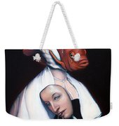 Allegory Of Fishing Weekender Tote Bag by Patrick Anthony Pierson