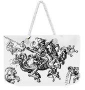Allegory Of Saturn, 1480 Weekender Tote Bag