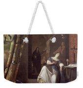 Allegory Of The Faith Weekender Tote Bag by Jan Vermeer