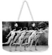 Allen: Chorus Line, 1920 Weekender Tote Bag by Granger