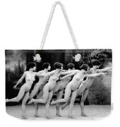 Allen Chorus Line, 1920 - To License For Professional Use Visit Granger.com Weekender Tote Bag