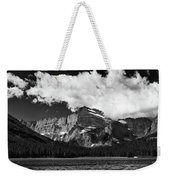 Allen Mountain Towers Over Swift Current Lake Weekender Tote Bag