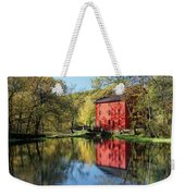 Alley Spring Mill Reflection Weekender Tote Bag