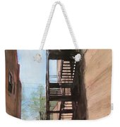 Alley W Fire Escape Weekender Tote Bag