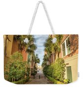 Alleyway In Chaleston Weekender Tote Bag