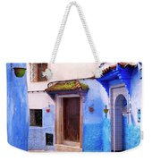 Alleyway In The Blue City Weekender Tote Bag