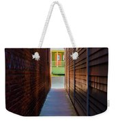 Alleyway To Green Weekender Tote Bag