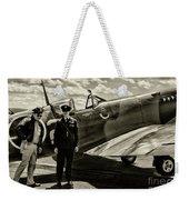 Allied Pilots Taking Stock Weekender Tote Bag