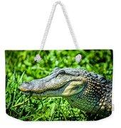Alligator  Weekender Tote Bag