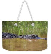 Alligator Weekender Tote Bag