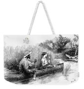 Alligator Hunt, 1888 Weekender Tote Bag