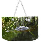 Alligator Hunting Weekender Tote Bag