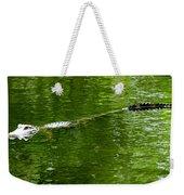 Alligator In Wait Weekender Tote Bag
