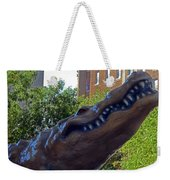Alligator Statue 4 Weekender Tote Bag