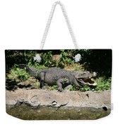 Alligator Surprise Weekender Tote Bag