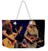 Allison Krauss With Jamey Johnson Weekender Tote Bag