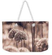 Allium 4 Weekender Tote Bag