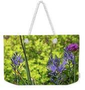 Allium And Camassia Weekender Tote Bag