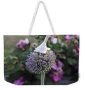 Allium Blossom With Cap Weekender Tote Bag