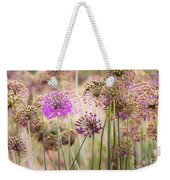 Allium Flowers Weekender Tote Bag