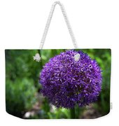 Allium Gladiator Closeup Weekender Tote Bag
