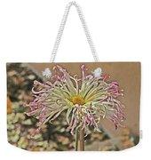 Allium Sunburst Pink/purple Tips On White Petals Yellow Center 2 10232017 Colorado  Weekender Tote Bag