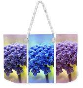 Allium Triptych Weekender Tote Bag