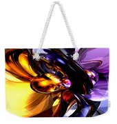 Alluring Grace Abstract Weekender Tote Bag