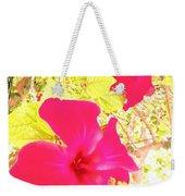 Almeria Flowers Weekender Tote Bag