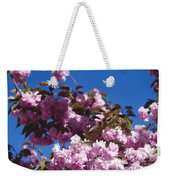 Almond Flowers Weekender Tote Bag