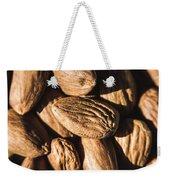Almond Nuts Weekender Tote Bag