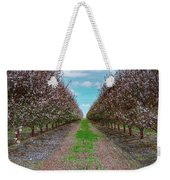 Almond Trees Of Button Willow Weekender Tote Bag
