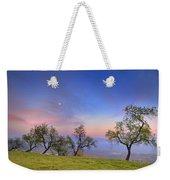 Almonds And Moon Weekender Tote Bag