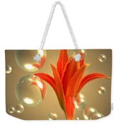 Almost A Blossom In Bubbles Weekender Tote Bag