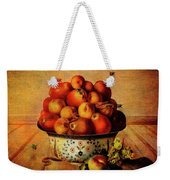 Almost A Still Life Weekender Tote Bag