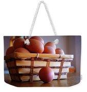 Almost All My Eggs In One Basket Weekender Tote Bag