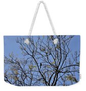 Almost Bare With Birds II Weekender Tote Bag