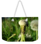 Almost Gone Dandelion Seeds Weekender Tote Bag