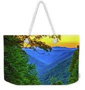 Almost Heaven - West Virginia 3 - Paint Weekender Tote Bag